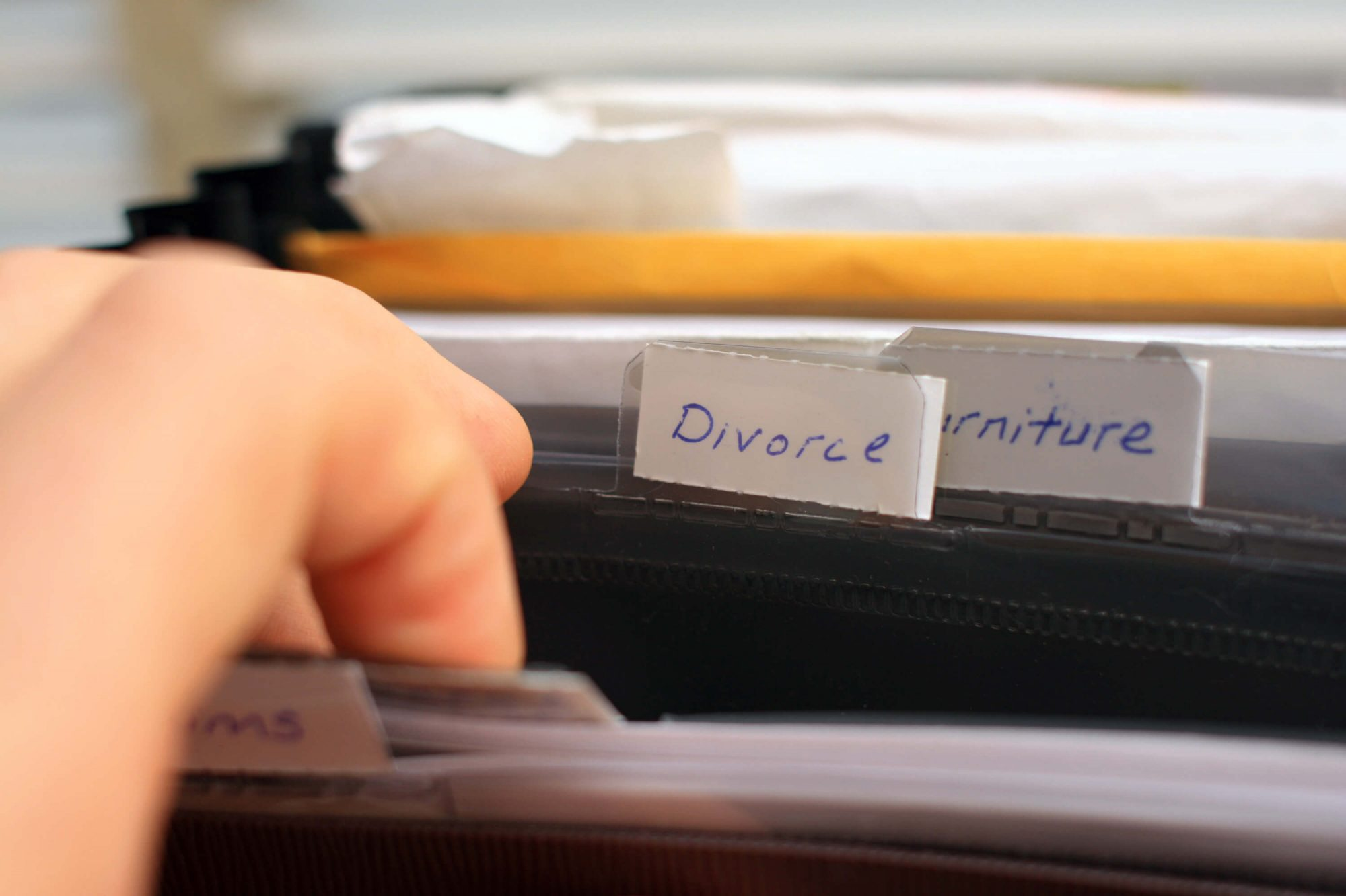 Goodman Law Firm discusses why a divorce file is necessary when filing for divorce.
